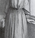 Rossetti Dante Gabriel Portrait of Elizabeth Siddal2