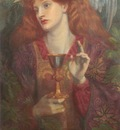 Rossetti Dante Gabriel The Holy Grail