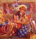 Rossetti Dante Gabriel The wedding Of Saint George And The Princess Sabra