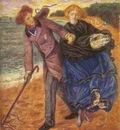 Rossetti Dante Gabriel Writing on the Sand