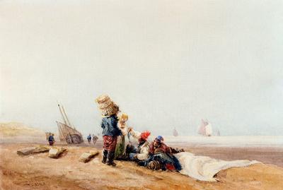 Cox David Fisherfolk On The Shore