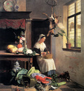 Noter David Emil Joseph De A Maid In The Kitchen