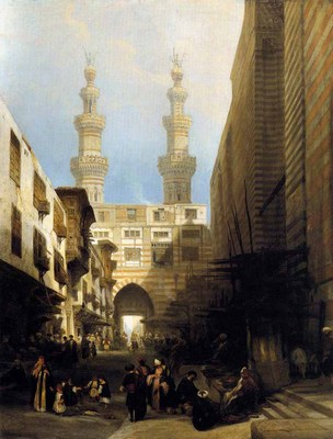 ROBERTS David A View In Cairo