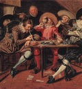HALS Dirck Merry Party In A Tavern