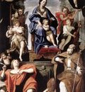 Domenichino madonna and child with st petronius and St. John the Evangelist