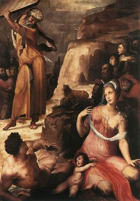 BECCAFUMI Domenico Moses And The Golden Calf