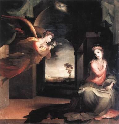 BECCAFUMI Domenico The Annunciation