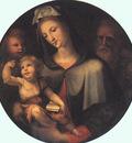 BECCAFUMI Domenico The Holy Family With Young Saint John