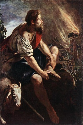 FETI Domenico Moses Before The Burning Bush