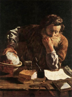 FETI Domenico Portrait Of A Scholar