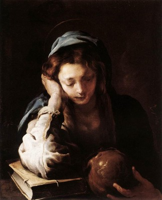 FETI Domenico The Repentant St Mary Magdalene
