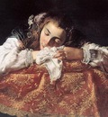 FETI Domenico Sleeping Girl