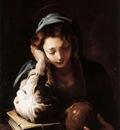 FETI Domenico The Repentant St Mary Magdalene
