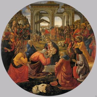 ghirlandaio domenico adoration of the magi