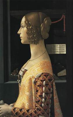 GHIRLANDAIO Domenico Portrait Of Giovanna Tornabuoni