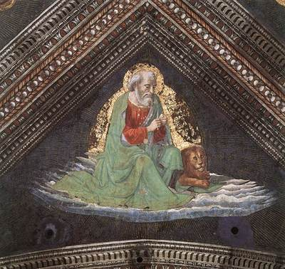 GHIRLANDAIO Domenico St mark The Evangelist