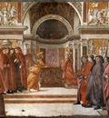 GHIRLANDAIO Domenico Angel Appearing To Zacharias