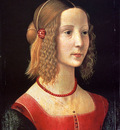 Ghirlandaio Domenico Portrait Of A Girl