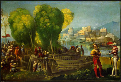 Aeneas and Achates on the Libyan Coast WGA