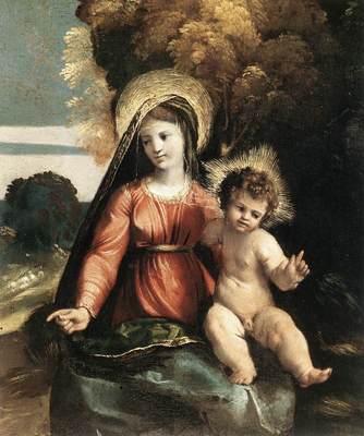 DOSSI Dosso Madonna and Child