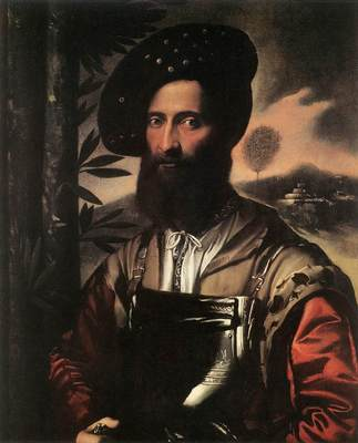 DOSSI Dosso Portrait of a Warrior