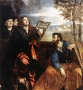DOSSI Dosso Sts John and Bartholomew with Donors
