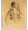 Johnson Eastman Portrait Of A Woman