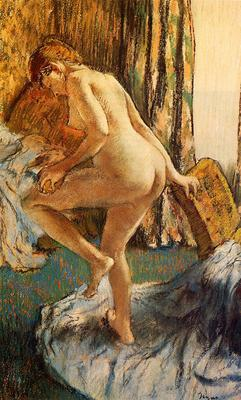 Degas Edgar After the Bath2