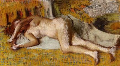 Degas Edgar After the Bath3