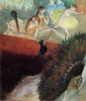 Degas Edgar At the Ballet