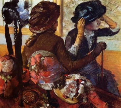 Degas Edgar At the Milliner s2