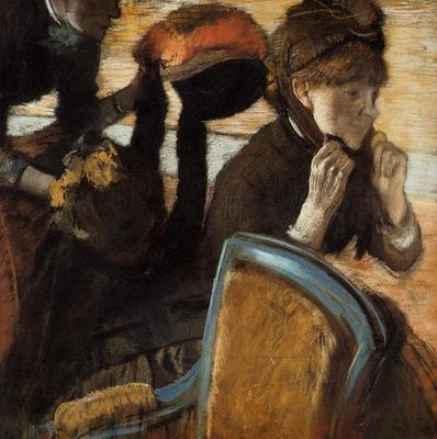 Degas Edgar At the Milliner s3