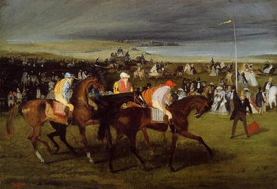 Degas Edgar At the Races the Start