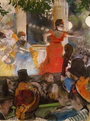 Degas Edgar Cafe Concert At Les Ambassadeurs