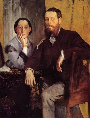Degas Edgar Edmond and Therese Morbilli