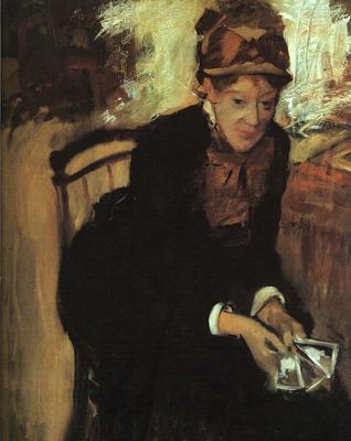 Portrait of Mary Cassatt CGF
