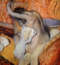 Degas Edgar After the Bath Woman Drying Herself