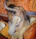 Degas Edgar After the Bath Woman Drying Herself