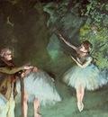 Degas Edgar Ballet Rehearsal