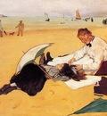 Degas Edgar Beach Scene