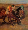 Degas Edgar Before the Race