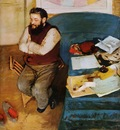 Degas Edgar Diego Martelli