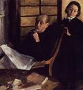 Degas Edgar Henri De Gas and His Neice Lucie Degas