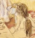 Degas Edgar Woman At Her Toilet