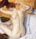 Degas Edgar Woman Combing Her Hair