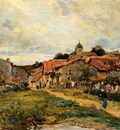 Peitjean Edmond The Village Road