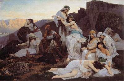 Debat Ponsan The Daughter of Jephthah