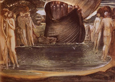 Burne%20Jones Sir Edward Coley Design For The Sirens