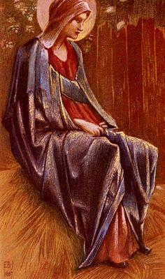 Burne%20Jones Sir Edward Coley The Virgin