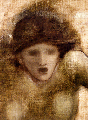 Burne Jones Edward Coley Study For One Of The Gorgons In The Finding Of Perseus